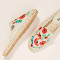 Soludos Ibiza Embroidered Espadrille Slides