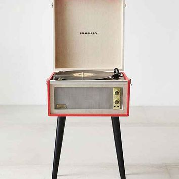 Crosley Dansette Bermuda USB Vinyl Record Player - Red One