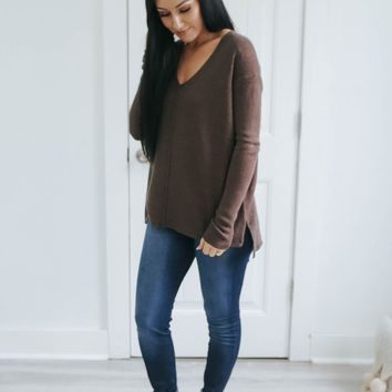 NOTHING BETTER SWEATER - SABLE