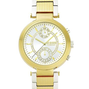 Versus by Versace Women's 'STAR FERRY' Quartz Stainless Steel and Gold Plated Casual Watch(Model: S79060017)