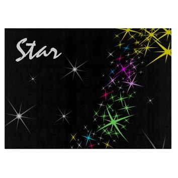Christmas Star Cutting Board