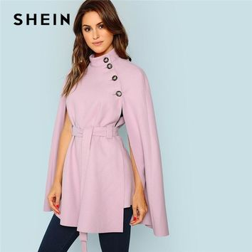 764293417d SHEIN Vintage Workwear Office Lady 2018 Women Outwear Streetwear