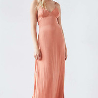 Silence + Noise Yara Maxi Slip Dress - Urban Outfitters