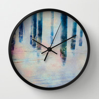 Imagine Wall Clock by Shawn King