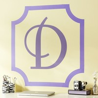 Scallop Corners Wall Decal