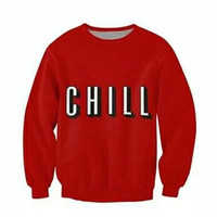 Netflix & Chill Red Sweatshirt