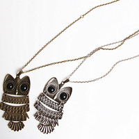 Cute Owl Necklace II