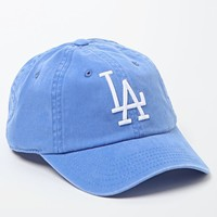 American Needle Washed Out LA Dodgers Baseball Cap - Womens Hat - Blue - One