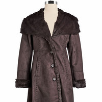 Jones New York Faux Fur Coat