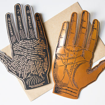 Deluxe Palmistry Card