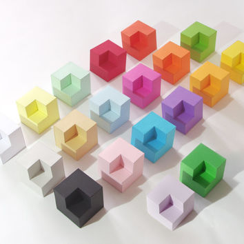 ColorCube PAPERWOLF