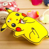 For Coque iPhone 6 Case Silicone 3D Cute Pok mon Case iPhone 6 Cover Silicon Pokemons Case For Fundas iPhone 6 6S Plus 5 5S SE