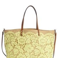 Valentino 'Glam' Reversible Lace Tote