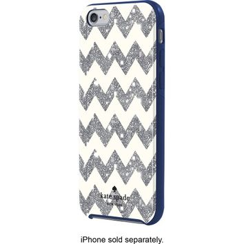 kate spade new york - Case for Apple® iPhone® 6 and 6s - Silver/Cream