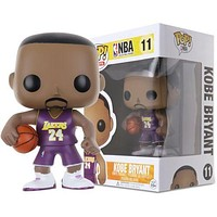Fashion FUNKO POP Basketball NBA World Star PVC Action Figure Model Toy Hot Xams