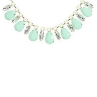 Faceted Jewel Statement Necklace | Shop Accessories at Wet Seal