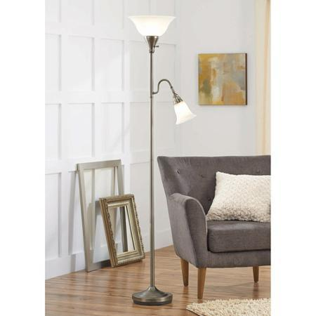 better homes and gardens floor lamp from walmart apartment. Black Bedroom Furniture Sets. Home Design Ideas