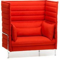 alcove highback sofa