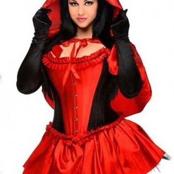 Atomic Little Red Riding Hood Inspired Costume