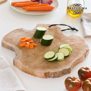 Bravissima Kitchen Trunk Rustic Chopping Board