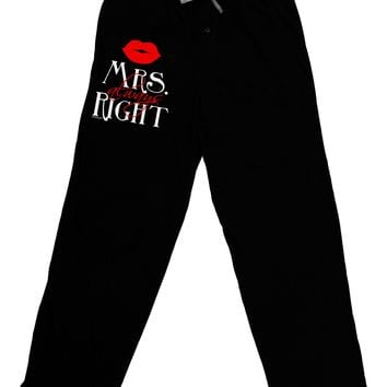 - Mrs Always Right Adult Lounge Pants