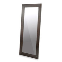Daffodil Dark Brown Wood Frame Floor Mirror