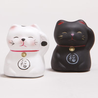 Lucky Cat Figurines, Set of 2 - World Market