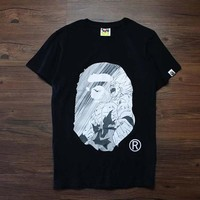 Trendsetter  Bape  Women Men Fashion Casual Shirt Top Tee
