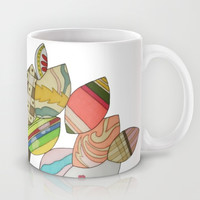 Button Tree Mug by Erin Brie Art
