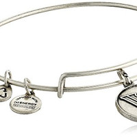 Alex and Ani Villanova University Logo Expandable Rafaelian Silver Bangle Bracelet