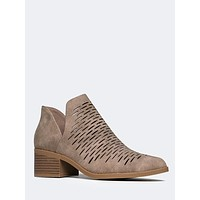 Mesh Ankle Bootie