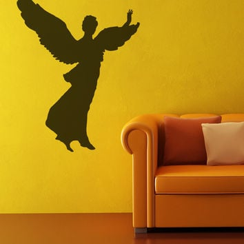 Vinyl Wall Decal Sticker Angel Silhouette #OS_MB561