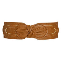 Knot Leatherette Waist Belt | Shop Way Out West at Wet Seal