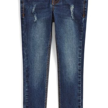 Girl's Vigoss 'Kodi' Back Flap Pocket Jeans,