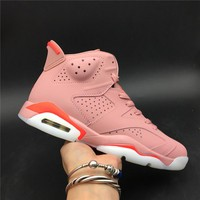 "Aleali May x Air Jordan 6 ""Millennial Pink"" - Best Deal Online"