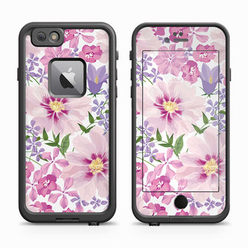 Shades Of Purple Blooming In Spring Skin for the Apple iPhone LifeProof Fre Case