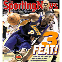Los Angeles Lakers' Kobe Bryant - NBA Champions - June 24, 2002