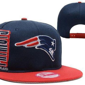 New England Patriots 9fifty Nfl Football Hat Dark Blue