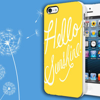 Hello Sunshine - Casblue - Plastic and Rubber Case - iPhone and Samsung