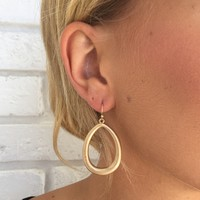 Bottega Gold Earrings