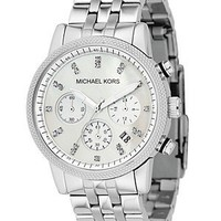 Michael Kors Stainless Steel Chronograph Watch, 38MM | Bloomingdale's