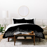 Restudio Designs New York Skyline 2 Duvet Cover