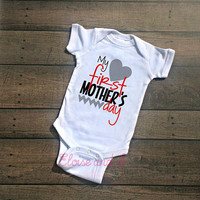 baby boy mothers day outfit, mothers day shirt, first mothers day, baby mothers day, baby boy coming home outfit, baby boy take home outfit