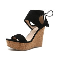 Women's Wedge-Tie Back Wedge