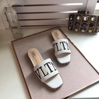 Valentino 2018 Women Fashion Casual Heels Shoes Sandals Shoes