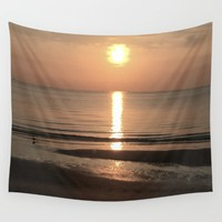Focus on the Sunshine Wall Tapestry by Gwendalyn Abrams