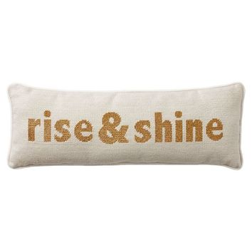 The Emily & Meritt Rise And Shine Pillow