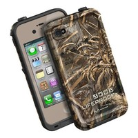 LifeProof FRE iPhone 4/4s Waterproof Case - Retail Packaging - EARTH/MAX 5 REALTREE CAMO