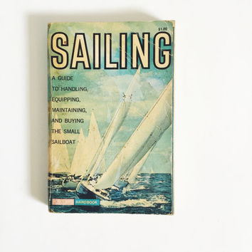 Vintage, Golden Guidebook, Sailing, Handbook, 1961, Second Printing