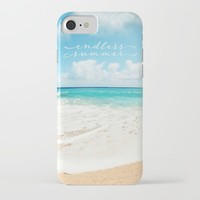 endless summer iPhone Case by sylviacookphotography
